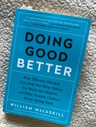 Doing Good Better book