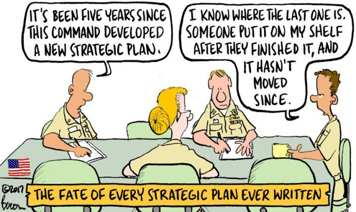 strategic plan comic