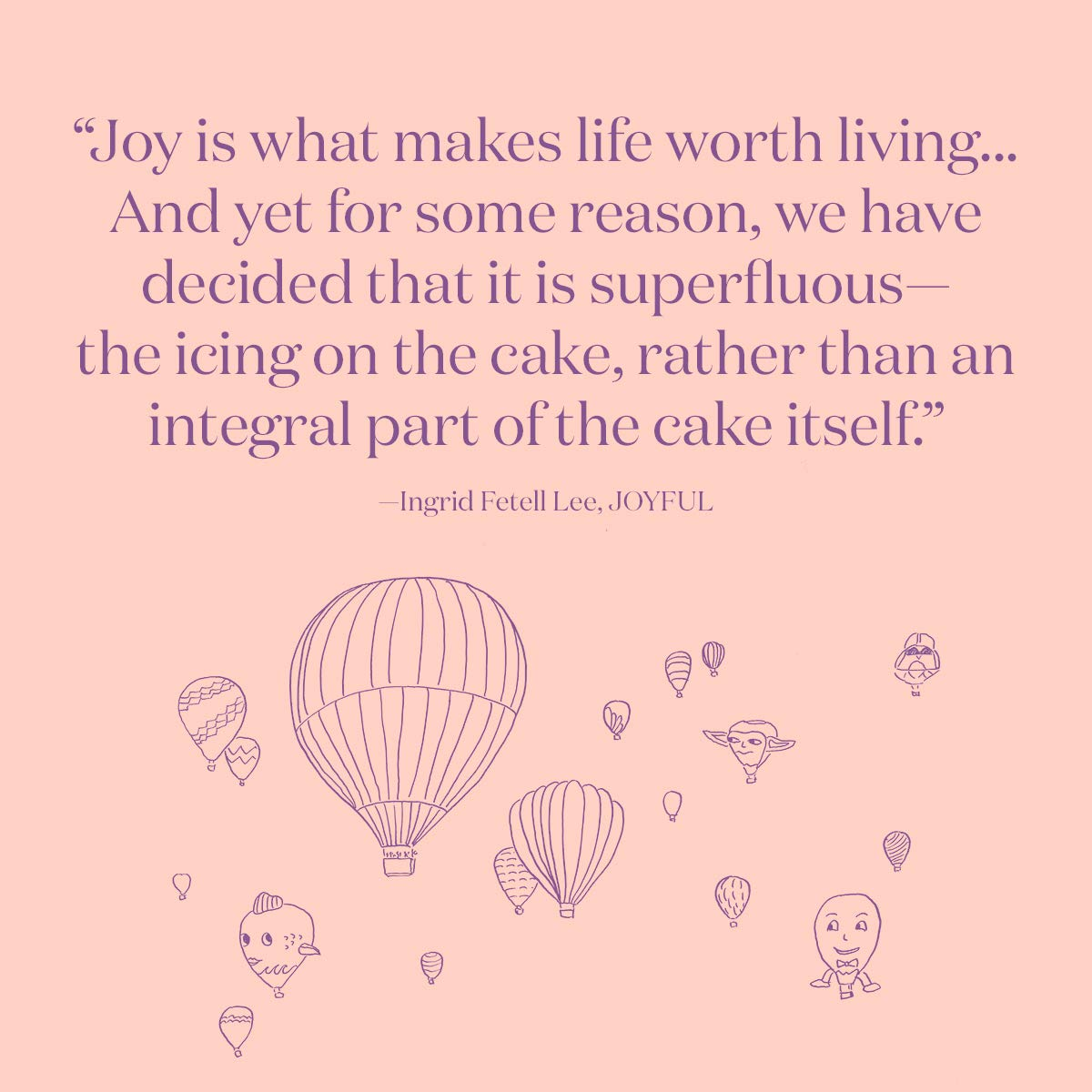 Quote from Joyful book