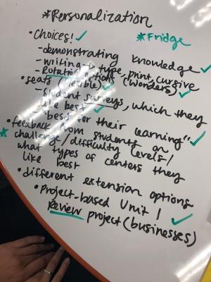 Personalization Brainstorming